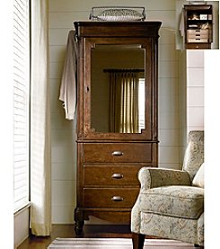 Universal Furniture® River House Dressing Armoire in River Bank Finish