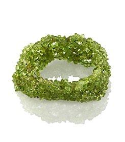 Effy® Peridot Stone Stretch Bracelet