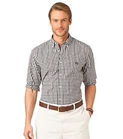 Chaps® Men's Birch Long Sleeve Westport Plaid Poplin Button Down Shirt