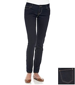 Celebrity Pink Stretch Sateen Skinny Jeans