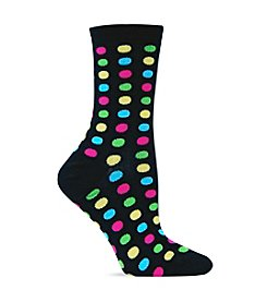 Hot Sox Fun Dot Trouser Socks