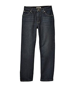 Ruff Hewn Boys' 8-20 Dark Whisker 5-Pocket Straight Leg Jeans