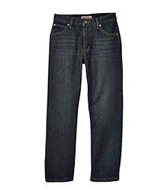 Ruff Hewn Boys' 8-20 Dark Whisker 5-Pocket Straight Leg Jeans