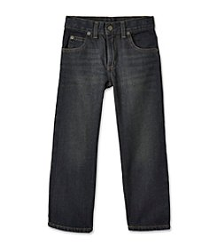 Ruff Hewn Boys' 2T-7 Dark Wash 5-Pocket Straight Leg Jeans