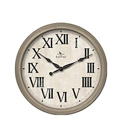 FirsTime Weathered Roman Numeral Clock