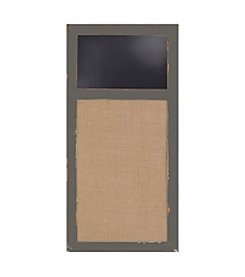 Sheffield Home® Distressed Burlap And Chalkboard