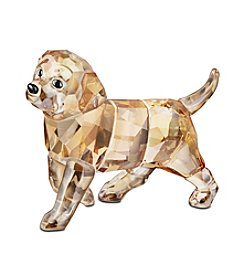 Swarovski® Standing Golden Retriever