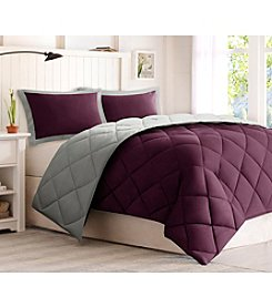 Comfort Classics Larkspur Windsor Microfiber Down-Alternative Comforter Mini Set