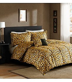 Comfort Classics Lagos Zambia Cheetah Microfiber Down-Alternative Comforter Mini Set