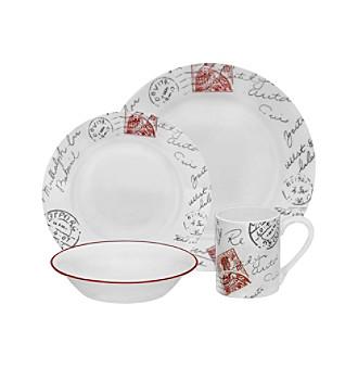 Corelle Impressions Sincerely Yours 16-pc. Dinnerware Set  sc 1 st  Sales Spider & Corelle Impressions Sincerely Yours 16-pc. Dinnerware Set - $1...