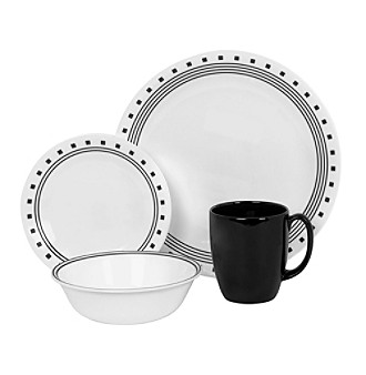 Corelle® Livingware City Block 16-pc. Dinnerware Set