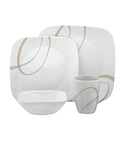 Corelle® Square Sand and Sky 16-pc. Dinnerware Set