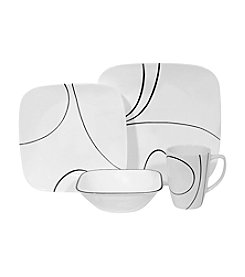 Corelle® Square Simple Lines  16-pc. Dinnerware Set