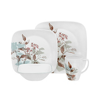 Corelle® Square Twilight Grove 16-pc. Dinnerware Set