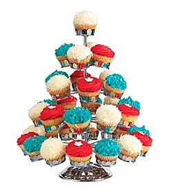 Godinger® Chrome Cupcake Holder