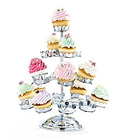 Godinger® Chrome Plated Cupcake Stand