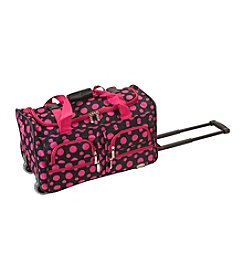 Rockland Black and Pink Dot 22