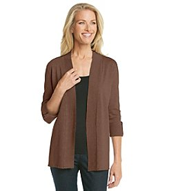 Laura Ashley® Petites' Tab Sleeve Cardigan