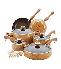 Paula Deen® Signature 15-pc. Honey Porcelain Cookware Set