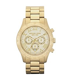 Michael Kors® Goldtone Layton Chronograph Watch