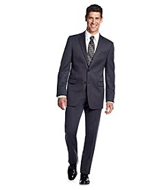 DKNY® Men's Silver Grey Slim-Fit 2-Button Twill Suit