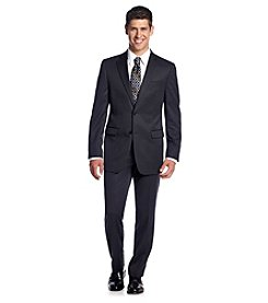 DKNY® Men's Black Slim-Fit 2-Button Twill Suit