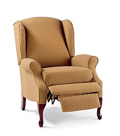 Lane® Hampton High-Leg Camel Wing Chair