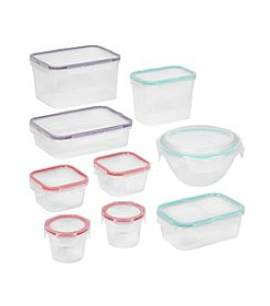 Snapware® 18-pc Airtight Stackable Plastic Food Container Set