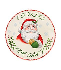 Lenox® Holiday Cookies for Santa Plate