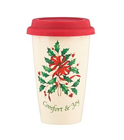 Lenox® Holiday Comfort & Joy Travel Mug