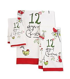 Lenox® 12 Days of Christmas Towel Collection