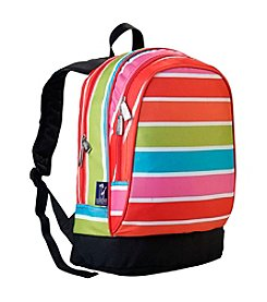 Wildkin Bright Stripes Sidekick Backpack