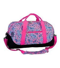 Wildkin Watercolor Ponies Pink Duffel Bag