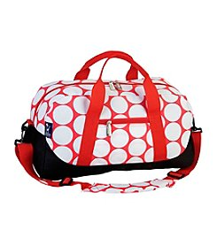 Wildkin Big Dot Red & White Duffel Bag