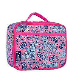 Wildkin Watercolor Ponies Pink Lunch Box