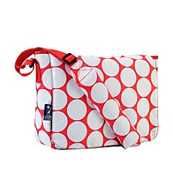 Wildkin Big Dot Red & White Kickstart Messenger Bag