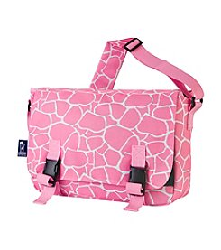 Wildkin Pink Giraffe Jumpstart Messenger Bag