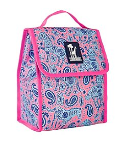 Wildkin Watercolor Ponies Pink Munch 'n Lunch Bag