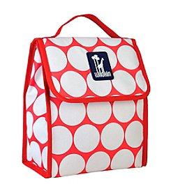 Wildkin Big Dot Red and White Munch 'n Lunch Bag