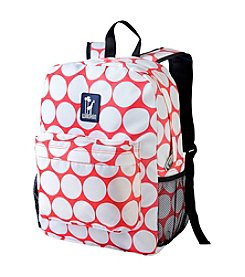 Wildkin Big Dot Red and White Crackerjack Backpack