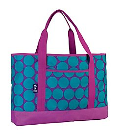 Wildkin Big Dot Aqua Tote