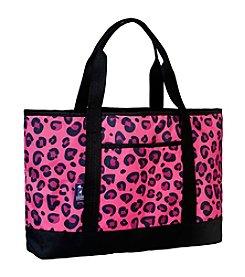 Wildkin Pink Leopard Tote