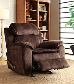 PRI Sharpshooter Fabric Rocker Recliner