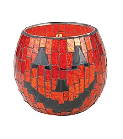 Woodwick&Reg; 10-oz. Spooky Pumpkin Mosaic Candle By Virginia Candle Company&Trade;