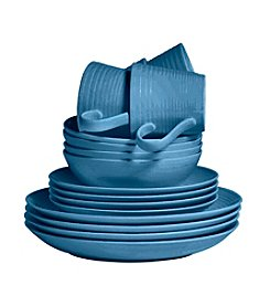 Gordon Ramsay Maze Denim by Royal Doulton® 16-pc. Dinnerware Set