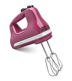 KitchenAid® 5-Speed Boysenberry Ultra Power Hand Mixer