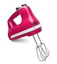KitchenAid® 5-Speed Cranberry Ultra Power Hand Mixer