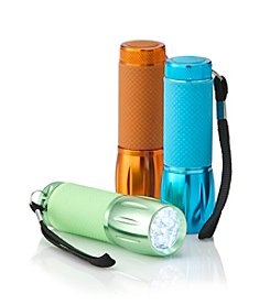 Black Series 3-Pack Glow-in-the-Dark LED Flashlights