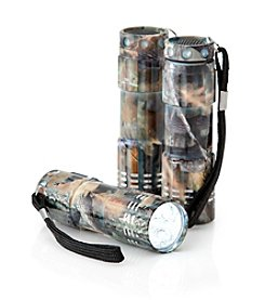 Black Series Camouflage 3-Pack LED Flashlights