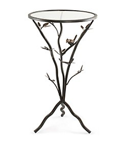 InnerSpace® Dalton Home Collection Glass Bird Table